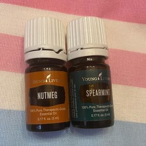 Young Living Spearmint and Nutmeg Essential Oil
